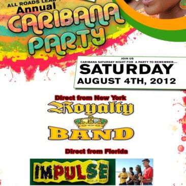 Caribana Party in The Commonwealth of Dominica