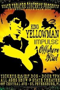 Impulse opening act for King Yellowman
