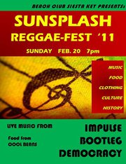 Sunsplash Reggae Fest w/ Democracy, Bootleg