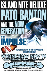 Pato Banton and the Now Generation with Impulse