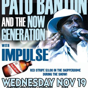 Shared bill with Pato Banton and the Now Generation